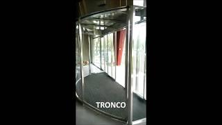 [TRONCO]Automatic Curved & Sliding door 藝術弧線型風除室自動門 (windbreak room)