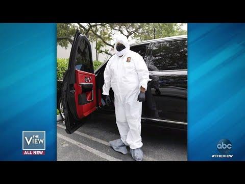 DJ Khaled Wears Hazmat Suit to Dentist | The View смотреть видео онлайн