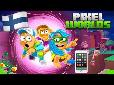 Tulkaa tuhoo mun maailma! - Pixel Worlds (kännykkäpeli, ilmainen)