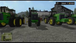 farming simulator 2017   mod reviews   john deere 9000 v1