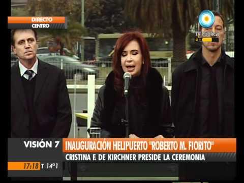 """Visión Siete: Inauguran helipuerto """"Roberto Mario ..."""