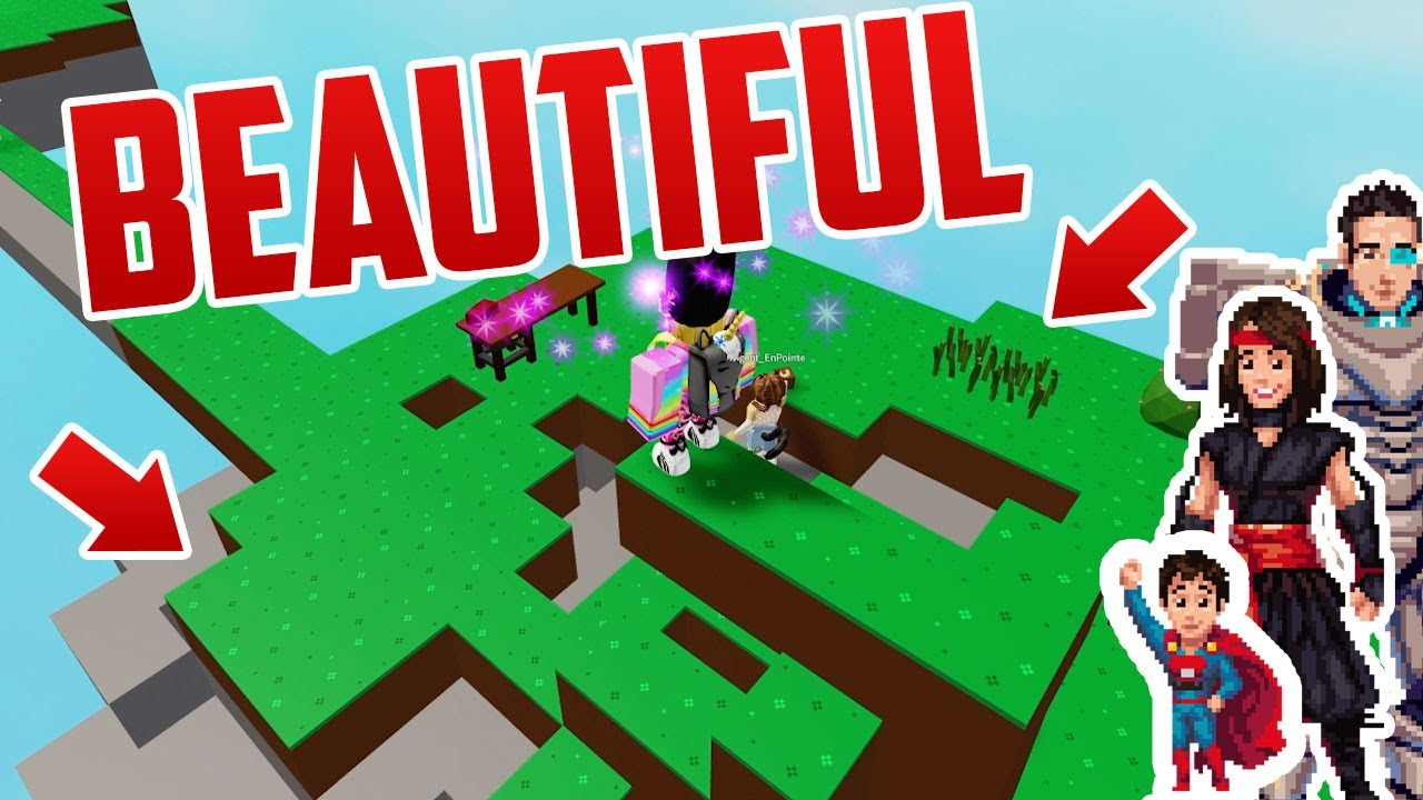 We Make The Most Incredible Skyblock Island Ever Made Roblox