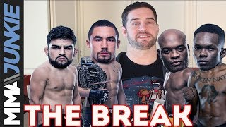 The Break: UFC 234 fallout with Whittaker's collapsed bowel, Gastelum's fake belt