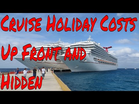 Cruise Ship Holiday Costs From The Base Fare Taxes Tips Drinks Specialty Restaurants to Hidden Fees