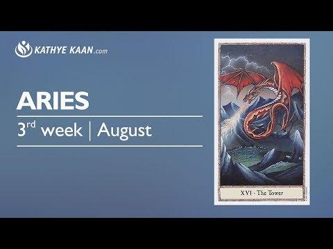 ARIES Weekly Reading Psychic Tarot Horoscope | Week 33 | 14 - 20 August