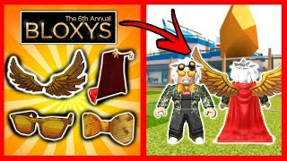 FREE ALL THESE BLOXYS EVENT OBJECTS - Roblox