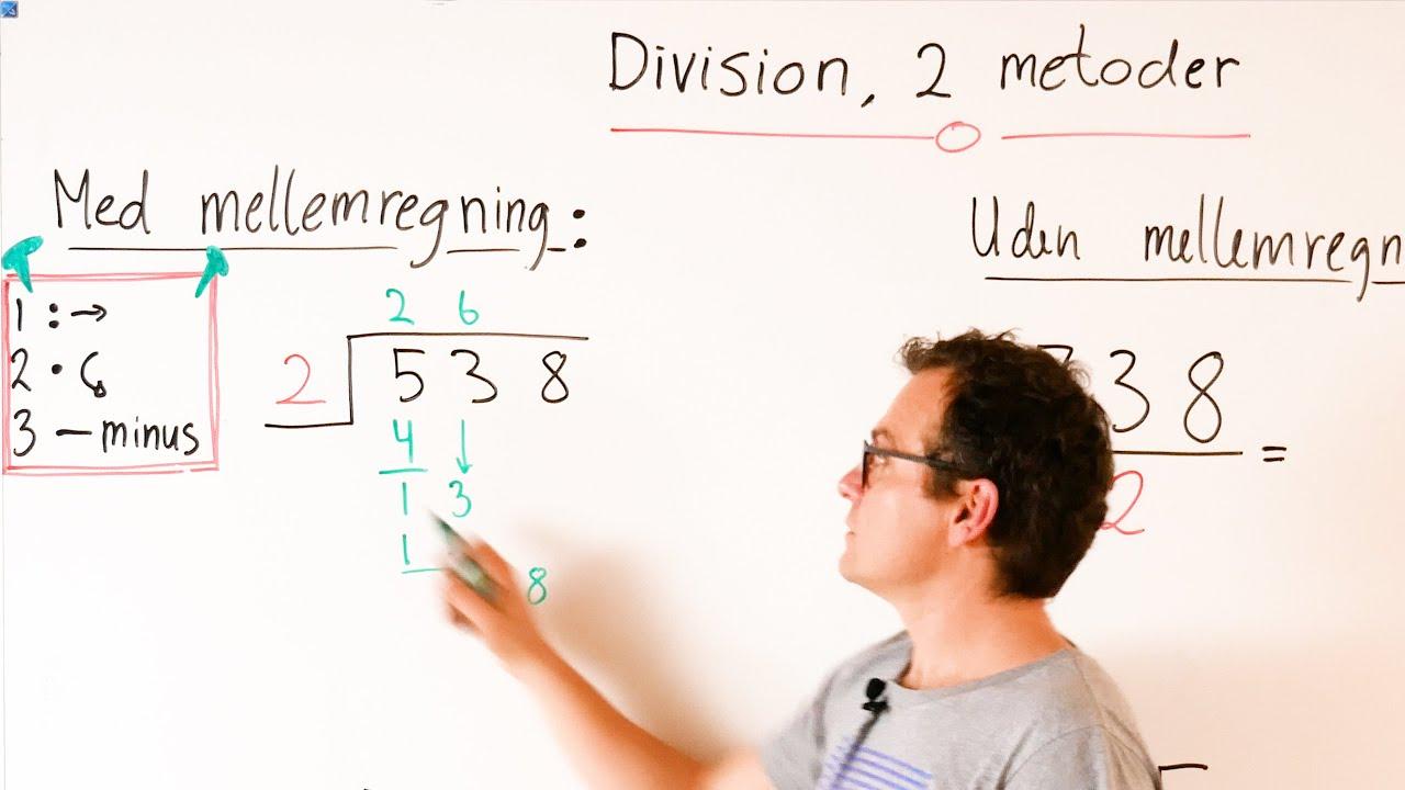 Division 2 metoder