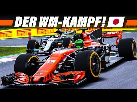 F1 2017 KARRIERE S3E16 – WM-Kampf gegen Hamilton | Let's Play Formel 1 4K Gameplay German