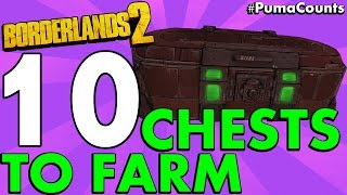 top 10 best loot chest farming locations in borderlands 2 pumacounts