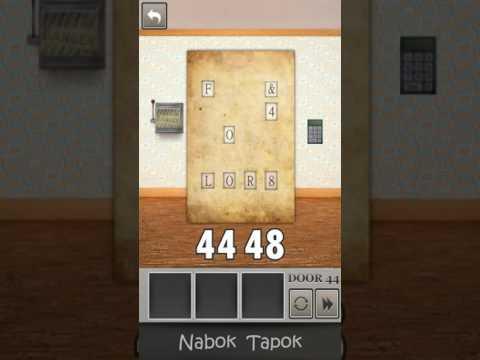 44 уровень - 100 Locked Doors прохождение