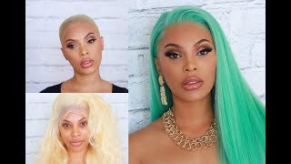 USING WATERCOLOR ON MY HAIR?!?!   HOW I APPLY MY WIG