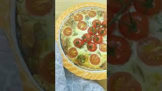 Уже на канале рецепт Киша с сыром и грибами