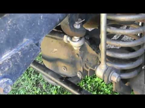Beginner's Tips To Off Roading: Sway Bar Disconnects.