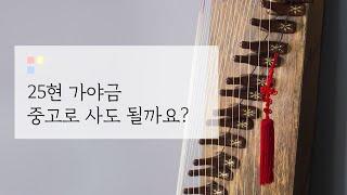 [도약닷컴] 25현 가야금 어디에서 살까? : 중고로 …