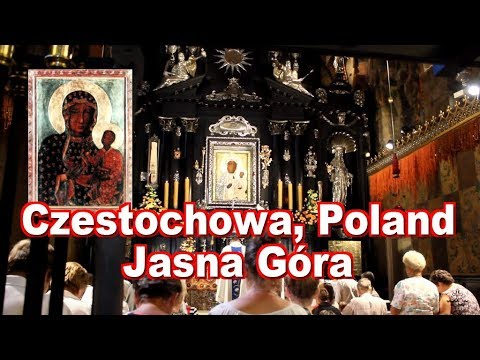 Audio visual guide for travelers in Czestochowa, Poland. Jasna Góra