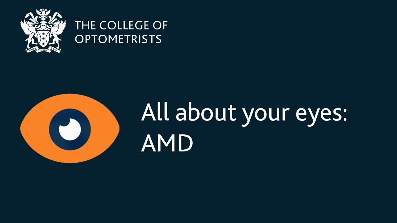 Have you heard of age-related macular degeneration (AMD)?
