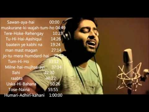 Arjit singh 2015 2016 juke box   Best of arijit singh   just listen the music pal