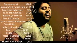 Repeat youtube video Arjit singh 2015- 2016 juke box   Best of arijit singh   just listen the music pal