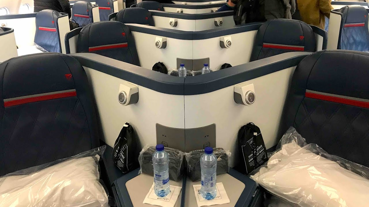 Flight Report Ams Dtw Delta Business Class Deltaone A330 300 Amsterdam To Detroit