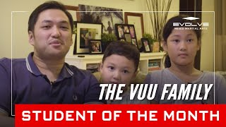 Evolve MMA | Student of the Month: The Vuu Family