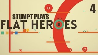 Flat Heroes - #4 - Beefy Boss (4 Player Gameplay)
