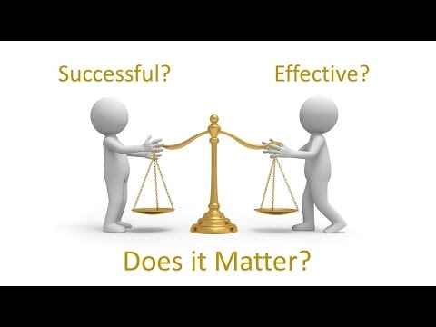 Successful Managers vs Effective Managers: Yes there is a Difference