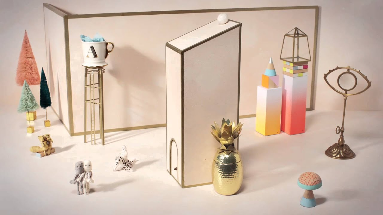 A Festive Animation Featuring Our Mischievous Holiday Ornaments Anthropologie Youtube