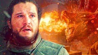 La Verdadera Razon por la que Drogon le hizo eso al Trono De Hierro!!- Juego de Tronos