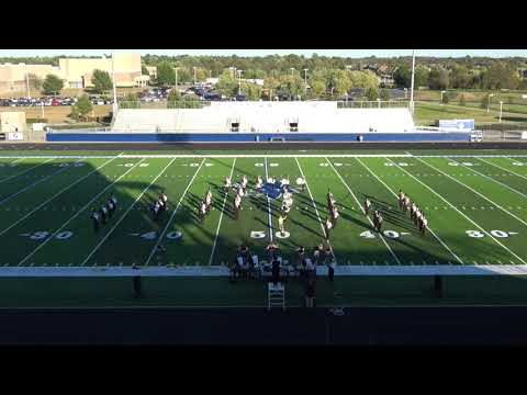 Pea Ridge High School Band marches at Region VI Assessment