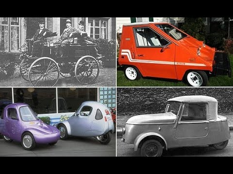 Incredible images reveal the quirky electric cars of old that paved the way for Elon Musk