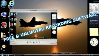 Free Windows Recording Software: No Banner & Unlimited Recording Time