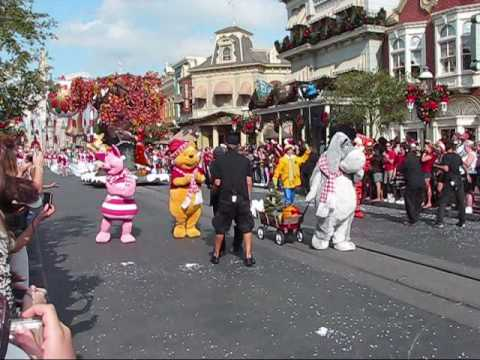 Disney World Christmas Parade Taping 2007 Part 3 - YouTube