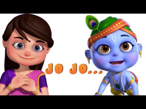 Jo Achyutananda Jo Jo - Nursery Rhymes And Baby Songs - Minnu and Mintu Telugu Rhymes