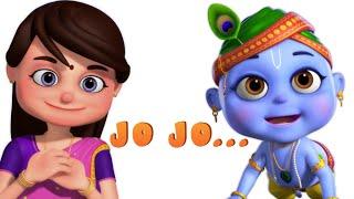 Jo Achyutananda Jo Jo - Telugu Rhymes And Baby Songs - Minnu and Mintu Telugu Rhymes