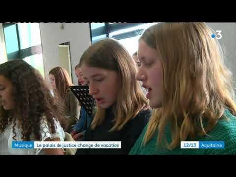 Le conservatoire de musique de Marmande s'installe au palais de Justicee