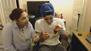 Cinnamon Challenge!! With My Fiance! I Almost DIED! thumbnail