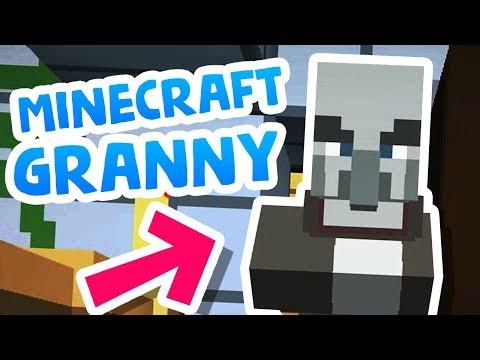 Someone made GRANNY in Minecraft!