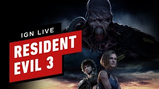 IGN Plays Live: Resident Evil 3 (Part 2)