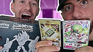 $100 ELITE TRAINER BOX POKEMON PACK OPENING CHALLENGE W/ CHADWITHAJ!!