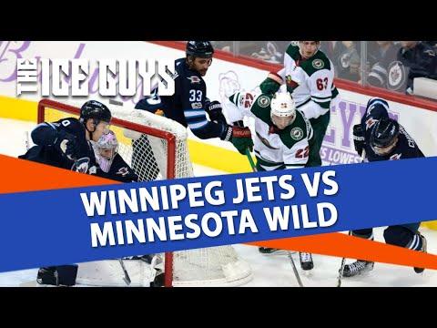 Winnipeg Jets vs Minnesota Wild | The Ice Guys | NHL Picks