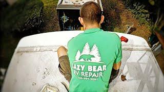 RV Roof Replacement/Repair  Timelapse
