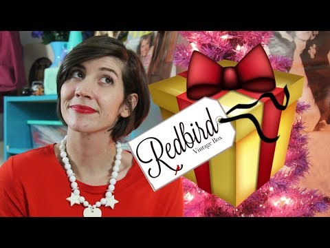 Unboxing Retro Holiday Jewelry | Redbird Vintage Box