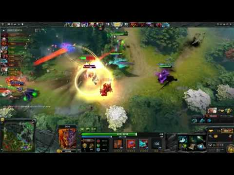 Miracle Lion Dancing with The Enemies 9000 MMR Dota 2