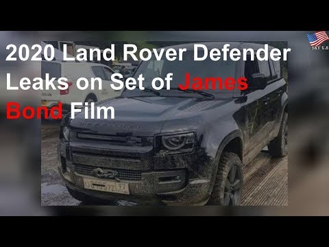 2020 Land Rover Defender Leaks On Set Of James Bond Film