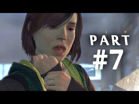 Beyond Two Souls Gameplay Walkthrough Part 7 - Mad Scientist