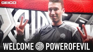 PowerOfEvil Joins TSM | Official TSM PoE Mid Laner Announcement