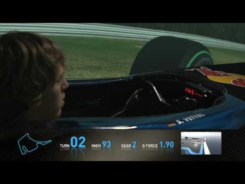 F1 Track Simulator - Sebastian Vettel at Hockenheim