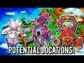 Diancie, Hoopa & Volcanion Locations + Hidden Cave Discovered?!