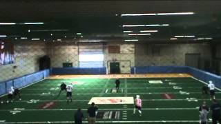 Chris Schubert - Spokane Shock Practice Film - #7 - Arena Football League