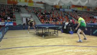 Sidorenko-Katsman.Semifinale.Russian Junior Table Tennis Championship 2017. FHD.